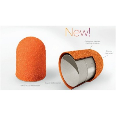 Колпачки абразивные №13 Ø11, 150 грит Оранжевые