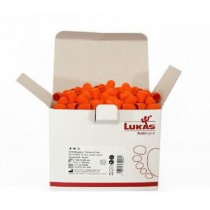Колпачки абразивные №15 Ø11, 80 грит Оранжевые