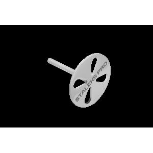 Диск педикюрный PODODISC STALEKS PRO L в комплекте с сменным файлом 180 грит 5 шт ( диаметр 25 мм)