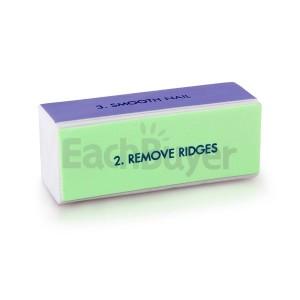 4-х ходовой блок (бафф) для полировки ногтей