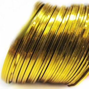 Лента для дизайна ногтей Gold