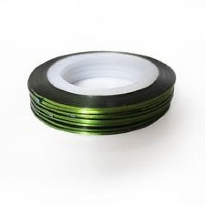 Лента для дизайна ногтей Green