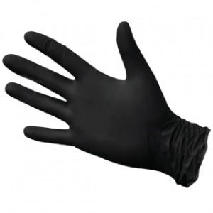 Перчатки Нитриловые Черные ФАБРИК L