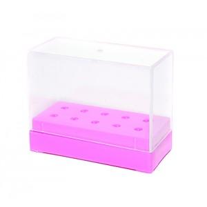 Подставка для насадок розовая