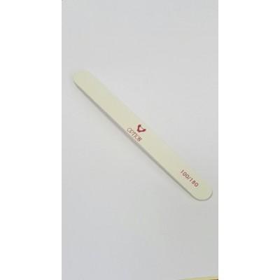 Пилка для натуральных и искусственных ногтей 100/180