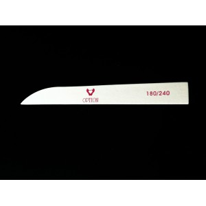 Пилка деревянная для натуральных ногтей Ножик 180/240